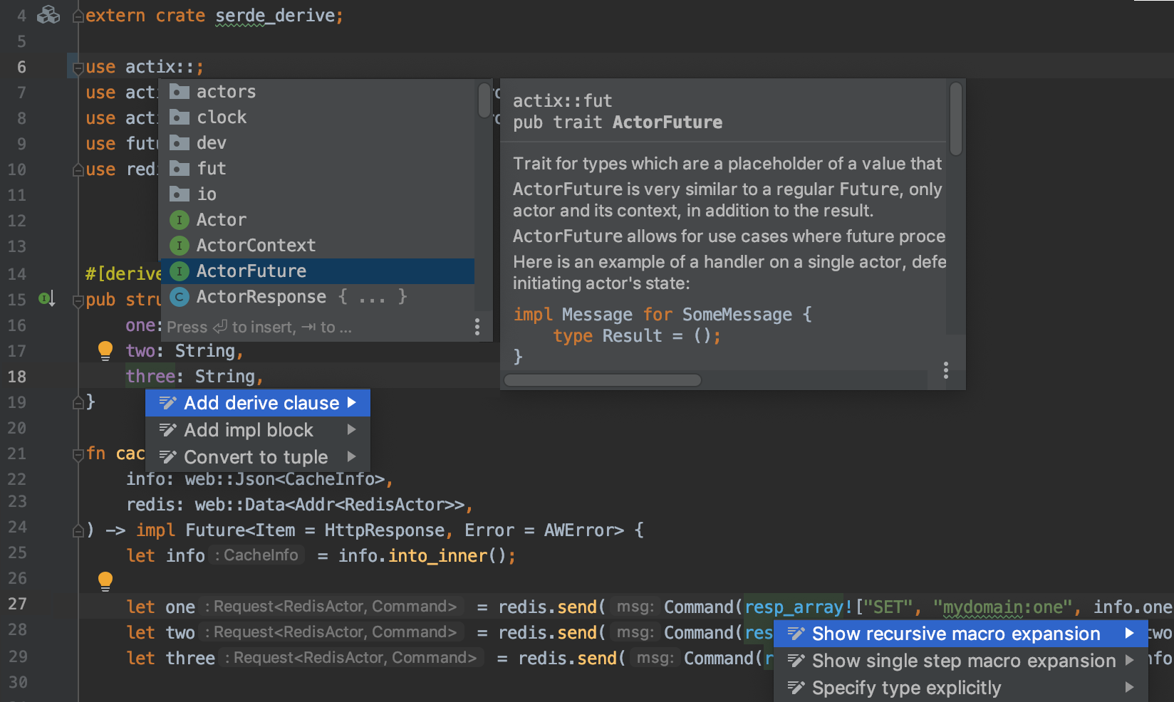 IntelliJ Rust